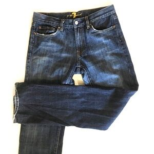 Vintage jeans by 7 FOR ALL MANKIND, dark bootcut